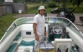 tepovanie a čistenie motorového člna